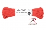 CORD 550LB NYLON 100 FT / RED