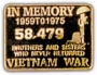 In Memory of Vietnam pin